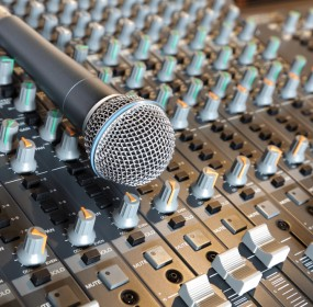 Microphone and mixing desk; a career in ten songs