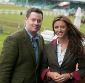 Adam Cromarty and Sarah Finlay