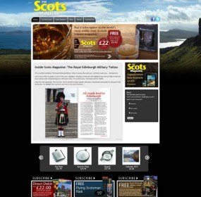 The Scots Magazine, new website