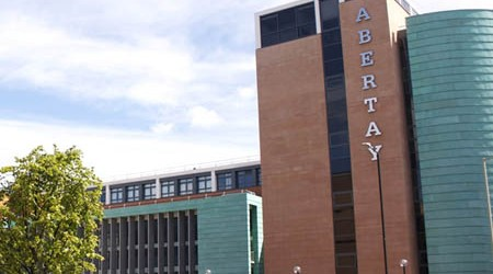Abertay campus
