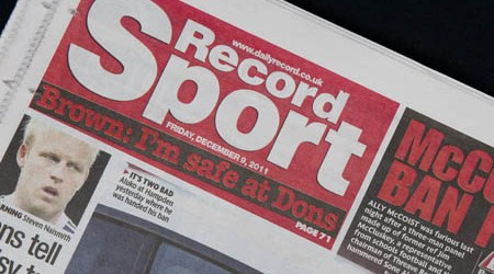 Daily Record, Sport