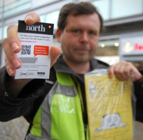 Big Issue in the North, QR codes, ISPN