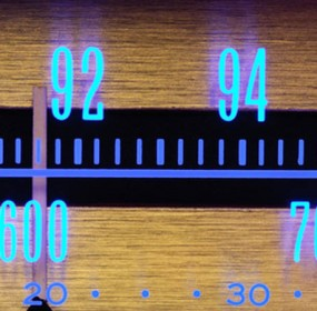 Radio dials (the 14th of the month)