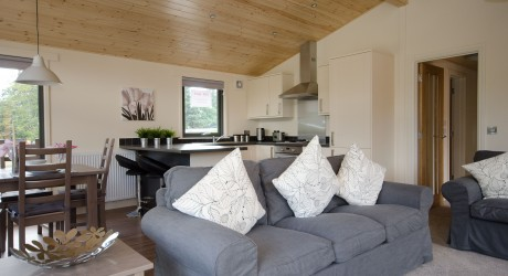 Mains of Taymouth showhome - Riverside Lodge interior