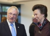 Princess Anne visits diabetes institute 8/9/2011