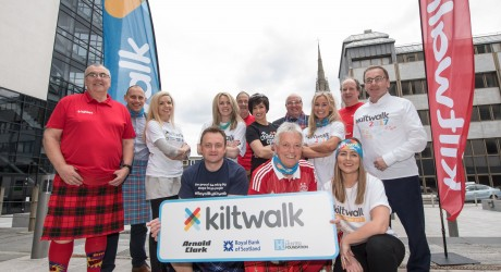 1.Royal Bank of Scotland Aberdeen Kiltwalk launch