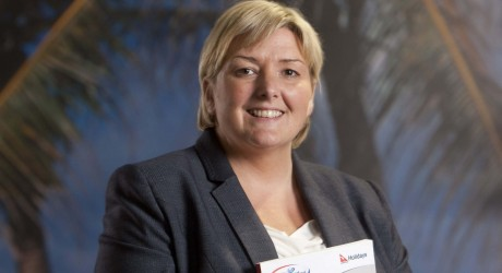 Barrhead Travel.CEO of Barrhead Travel, Sharon Munro.Chris James 26/8/10