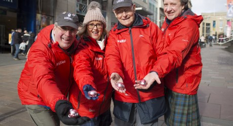 Kiltwalk Random Acts of Kindness Event 2