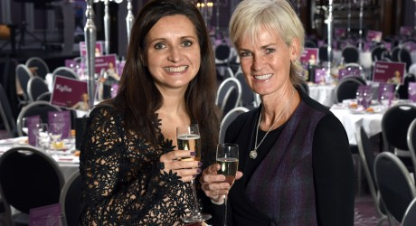 Quarriers Ladies' Lunch 2016 Judy Murray and Rhona McLeod