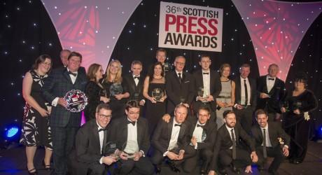 16/04/15RADISSON BLU - GLASGOW36th Scottish Press Awards. winners