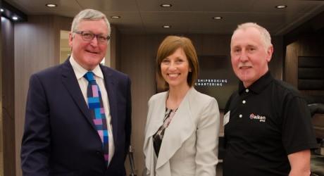 Fergus Ewing MSP, Dr Lena Wilson & Danny Donald