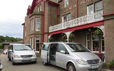 Glenesk Hotel Transfer Service Vehicles