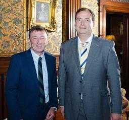 Gordon McIntosh (left) & Brett Jackson (right), Grampian-Houston Association - Copy