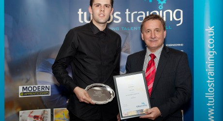 Lee Youngson (left) and George Yule - Tullos Training Award
