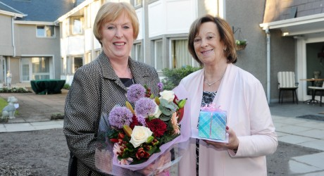 Marilyn Paterson (left) & Rona Tayler (right)