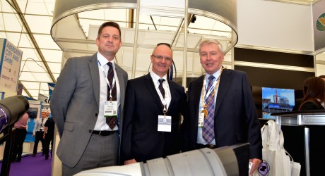 Mark Dundee, Ian Kirk & Provost Hamish Vernal