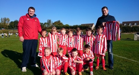 Mark Dundee (right) & Formartine United Youth Academy 2009 - Copy