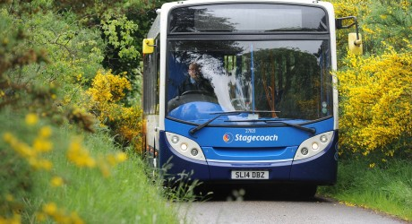 New Stagecoach Bus