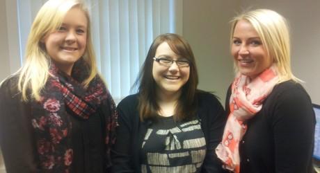 RSOH Aberdeen Appointments - Shona Wylie, Alannah Paton & Rachel Strachan