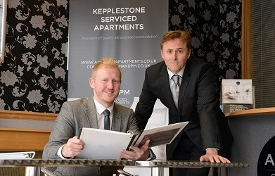 Russell Davidson (left) & Duncan Kerr (right), AM-PM Serviced Apartments - Copy