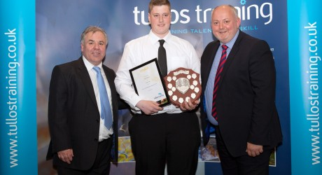 Tullos Training Awards 2014 - Sean McIntosh, Aiken Group (centre)