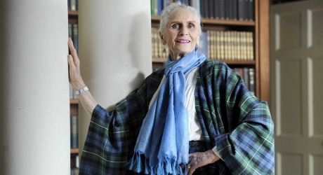 FREE PIC - Daphne Selfe at Boswell Book Festival Scotland 01