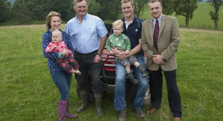 Stirlingshire monitor farm