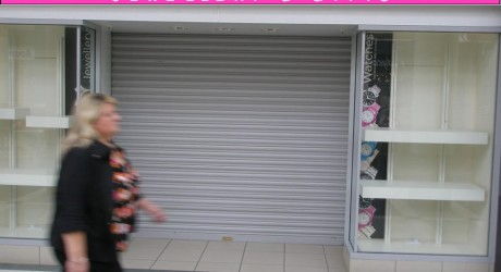 Paisley shop front mock-up