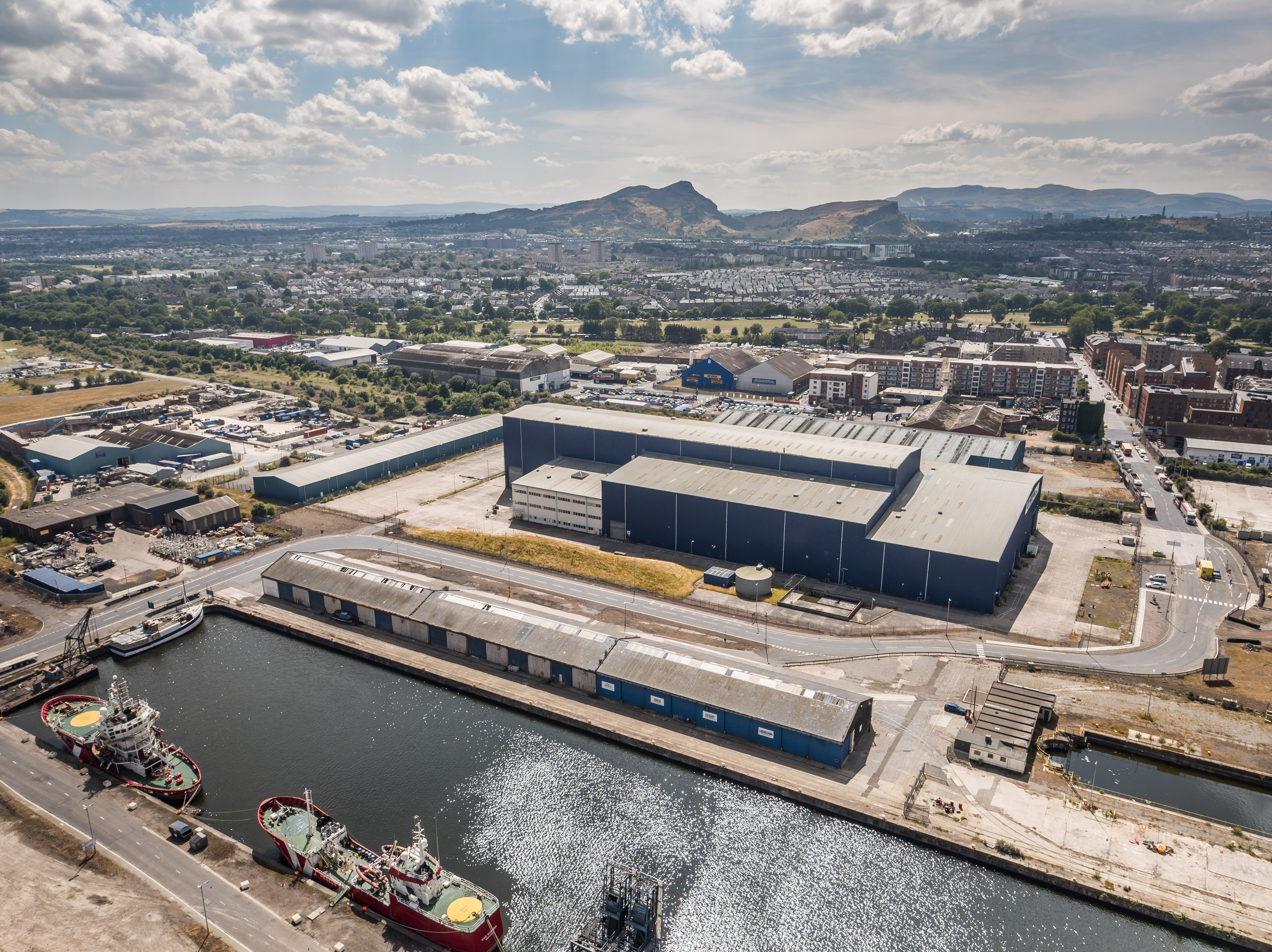 Media release: Screen Scotland seeks operator for major film and TV production facility at The Port of Leith, Edinburgh