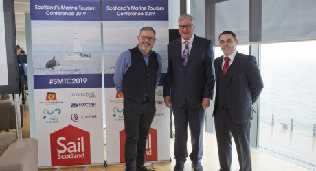 Media release: Greenock hosts Scotland's Marine Tourism Conference