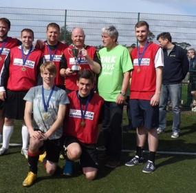 Choose Life Winners 2015 Tackleberries from Haddington with Ian Gray MSP