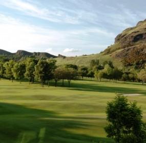 Prestonfield Golf Course-Arthur's Seat Salisbuy Crags