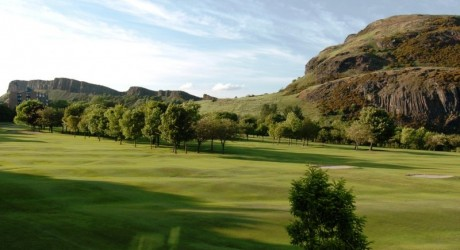 Prestonfield Golf Course-Arthur's Seat Salisbuy Crags
