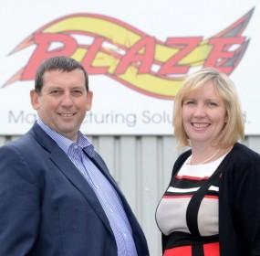 Blaze-Ann and Howard Johnson