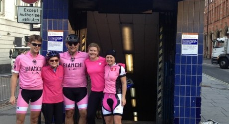 Fundraising team from bike ride[1]