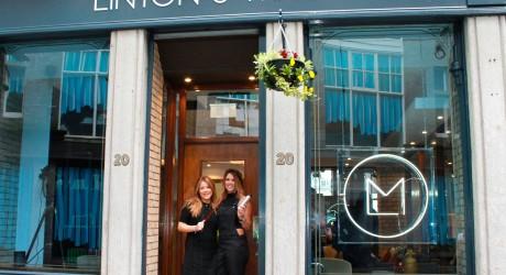 Jennifer Linton and Joanna Macdonald 2 (outside)