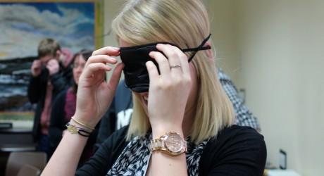 NESS training - blindfolds