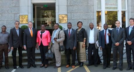 Stronachs-delegation visit