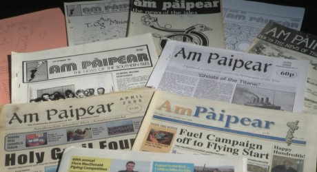 BBC ALBA - Am Paipear Over the Years