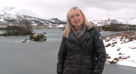Kidnapped - Cathy MacDonald on Rannoch Moor