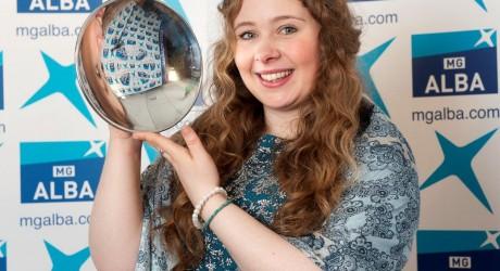 Mischa MacPherson Winner Gaelic Singer of the Year 2014