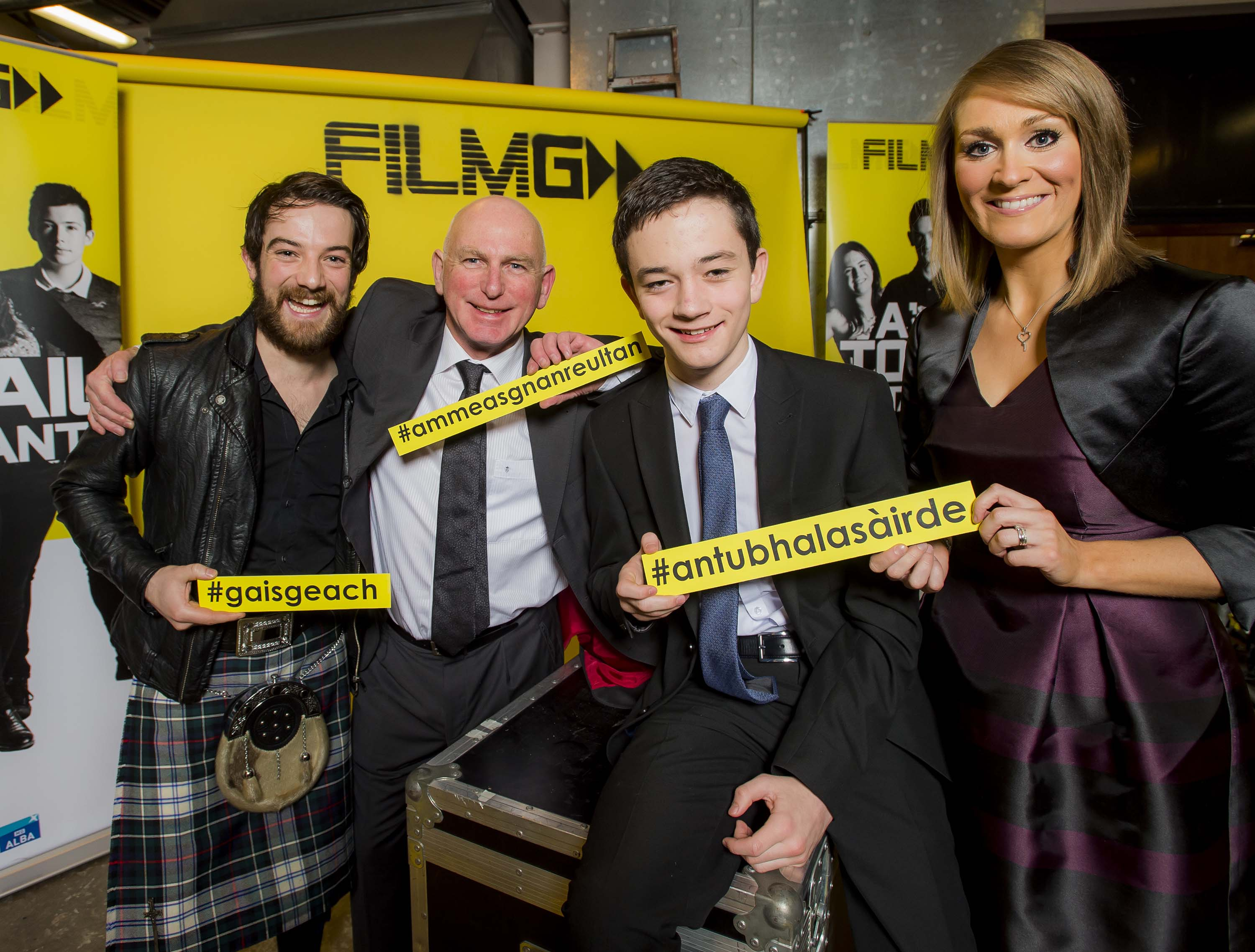 Media Release: Stars turn out for national Gaelic film ceremony, FilmG