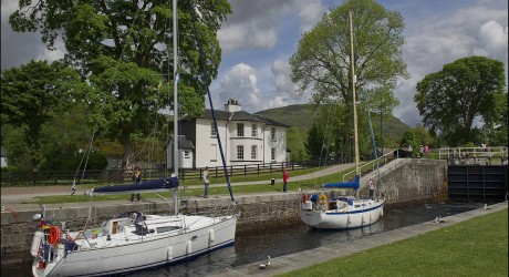Scottish Canals/Vivat Trust, Telford East Cottage, Banavie