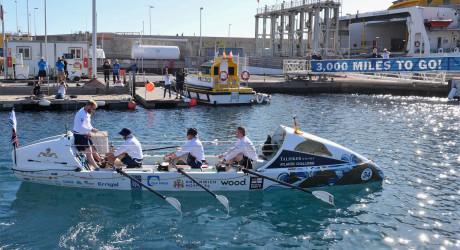 HMS Oardacious TWAC race Start