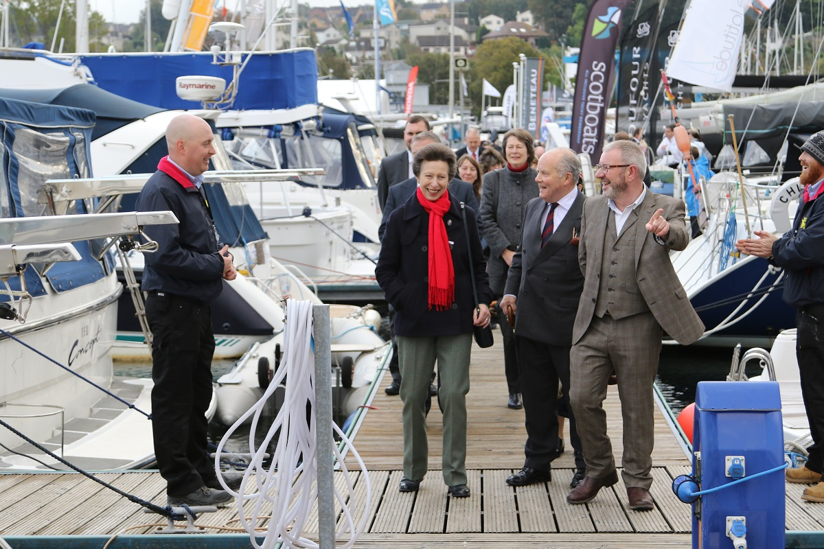 Media Release: Boat Show gets royal seal of approval