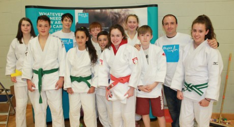 Sarah Clark, John Buchanan and Judo Competitors AMS