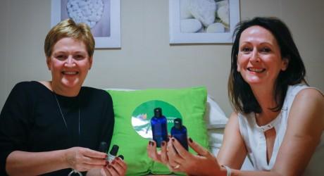 Rhona Baillie and Ann Loughrey