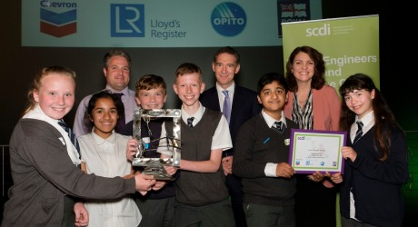 YESC (SCDI) - Celebration of STEM 2017 - Mearns Primary - Primary Club of the Year Award presentation