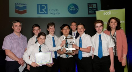 YESC (SCDI) - Celebration of STEM 2017 - Monifieth High - Secondary Club of the Year Award presentation