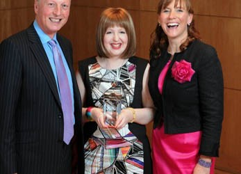 Lothian NHS awards, with Arlene Stewart